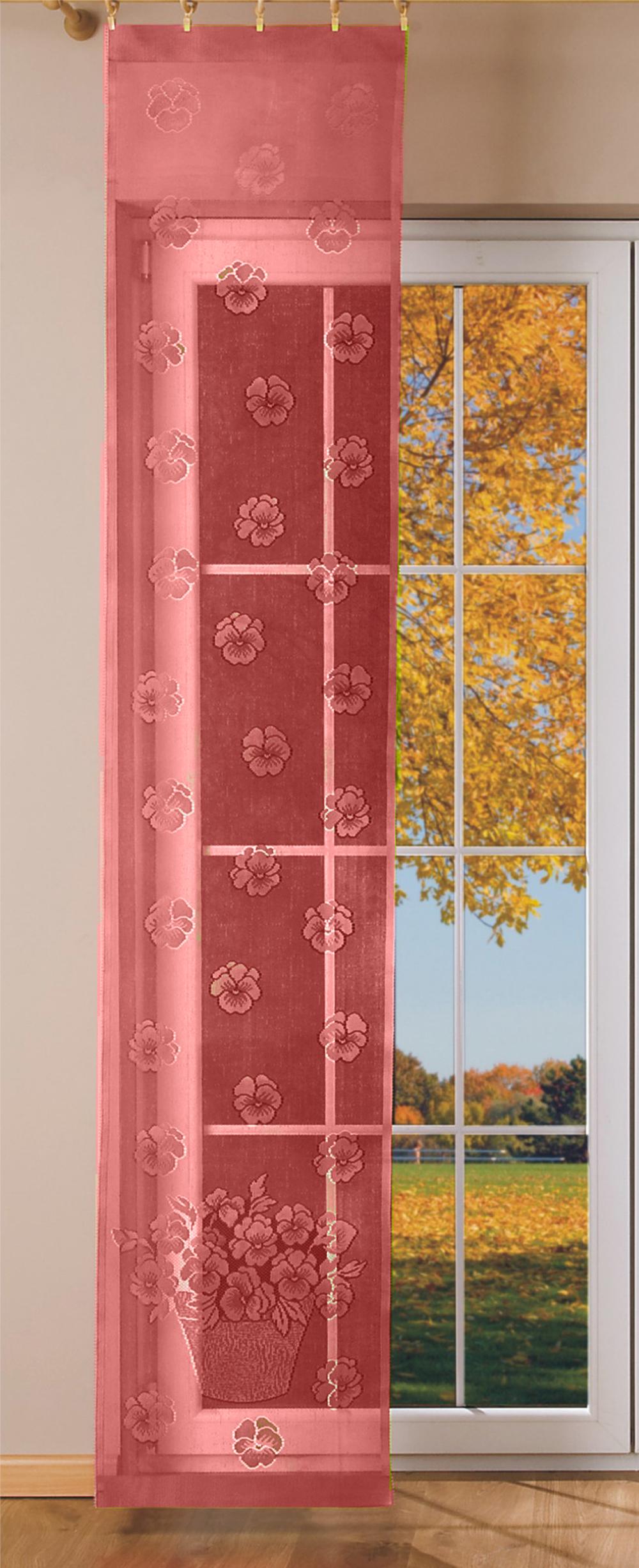 Шторы Wisan Японские шторы Beelzebub Цвет: Бордовый