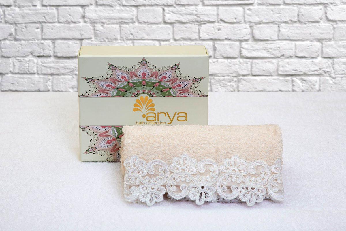 Полотенца Arya Полотенце Melisa Цвет: Пудра (50х90 см) полотенца arya полотенце otel цвет белый 50х90 см 6 шт
