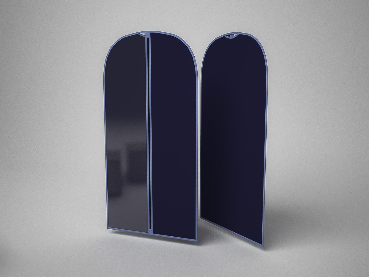 {} CoFreT Чехол для одежды Классик Цвет: Синий (60х100 см)