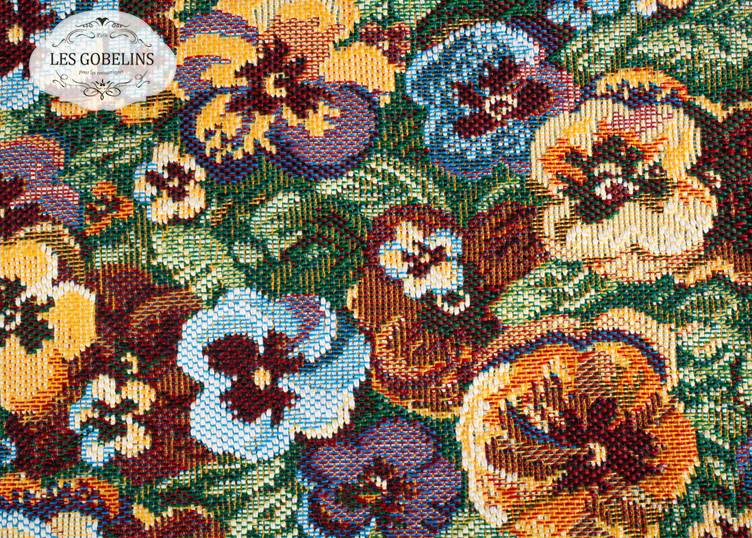 где купить Покрывало Les Gobelins Накидка на диван Fleurs De Jardin (140х200 см) по лучшей цене