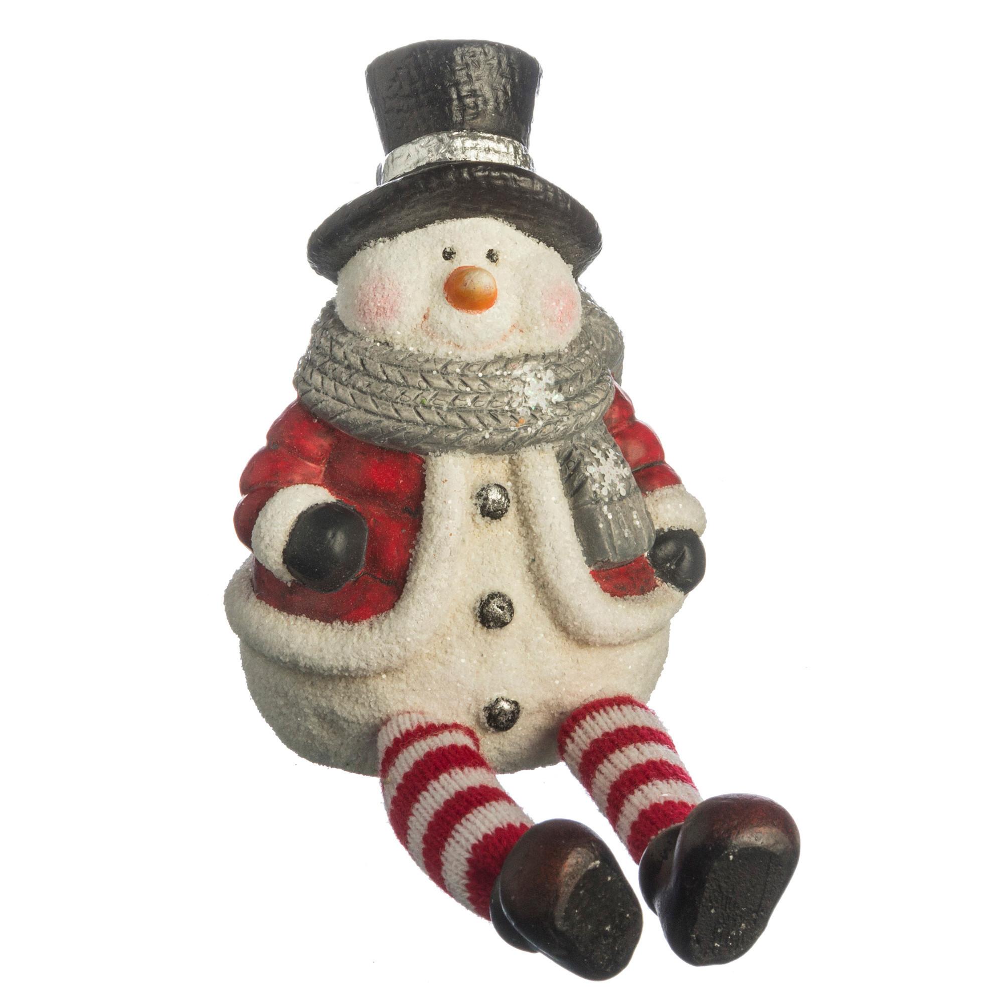 {} Arti-M Фигурка Снеговик (13 см) статуэтка снеговик 13 см