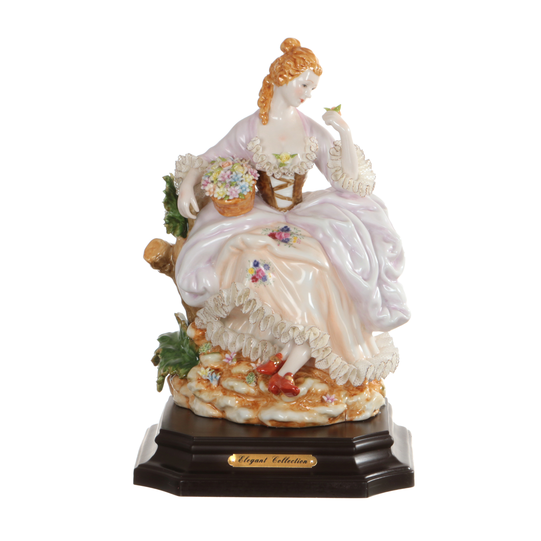 {} Lefard Статуэтка Девушка с Корзинкой (30 см) статуэтки parastone статуэтка девушка весна