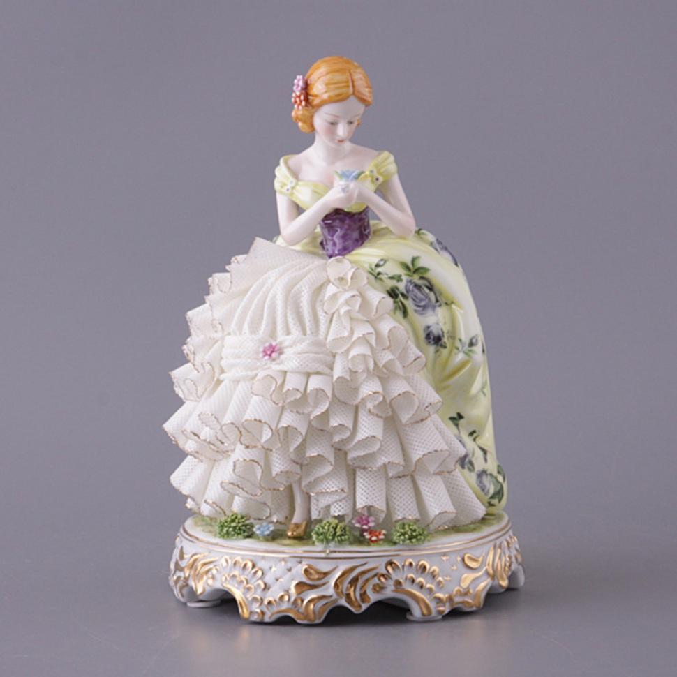 {} Lefard Статуэтка Дама (16х24 см) статуэтки pavone статуэтка дама в вечернем платье