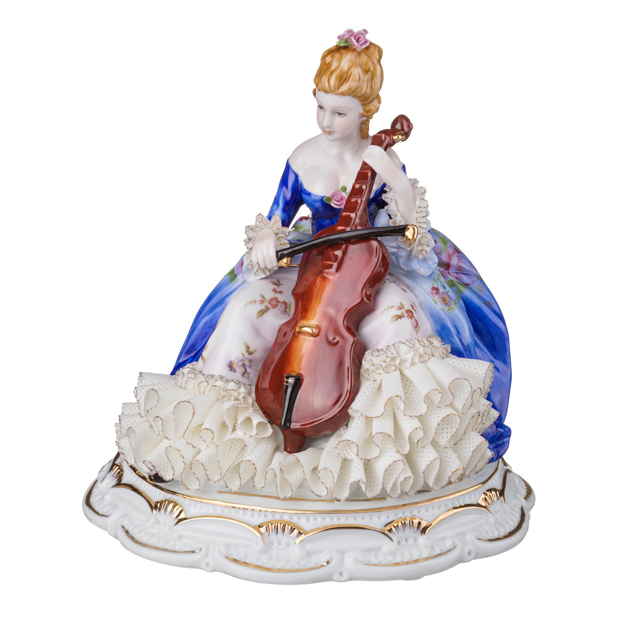 {} Lefard Статуэтка Дама (20 см) cms 20 34 статуэтка дама в вечернем платье pavone