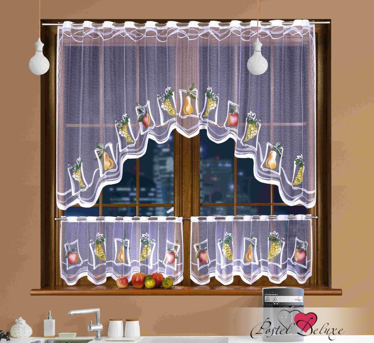 Шторы Wisan Шторы кафе Wilfrid комплект штор для кухни wisan celina на ленте цвет белый оранжевый высота 180 см