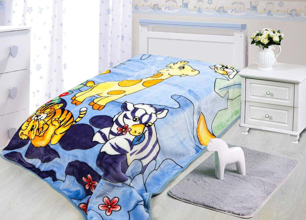 где купить Детские покрывала, подушки, одеяла Tamerlan Детский плед Жираф и Его Друзья (110х140 см) по лучшей цене