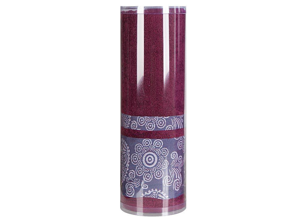 все цены на Полотенца Soavita Полотенце Cocktail Цвет: Бордовый (70х140 см)