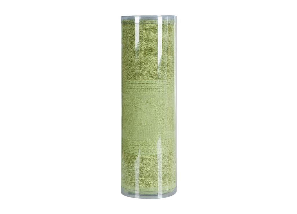 где купить Полотенца Soavita Полотенце ЦветыЦвет: Зеленый (70х130 см) по лучшей цене