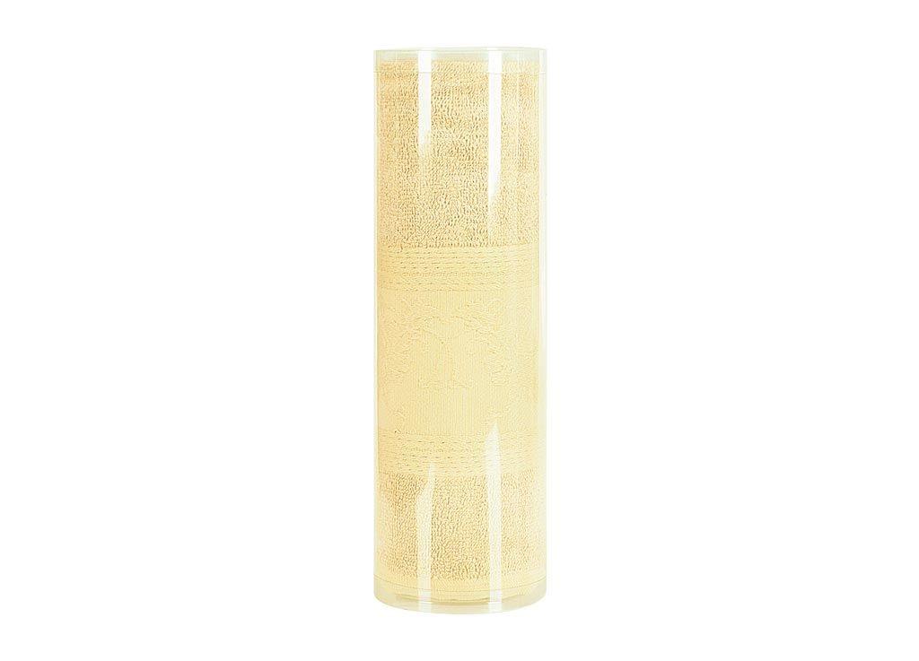 где купить Полотенца Soavita Полотенце ЦветыЦвет: Желтый (70х130 см) по лучшей цене