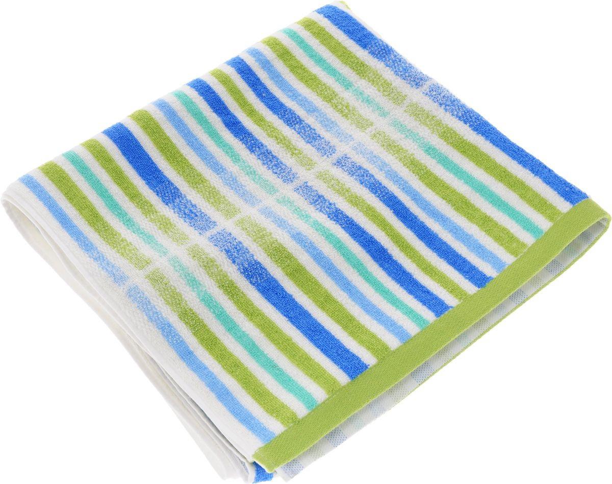 где купить Полотенца Soavita Полотенце Lily Цвет: Зеленый (70х140 см) по лучшей цене