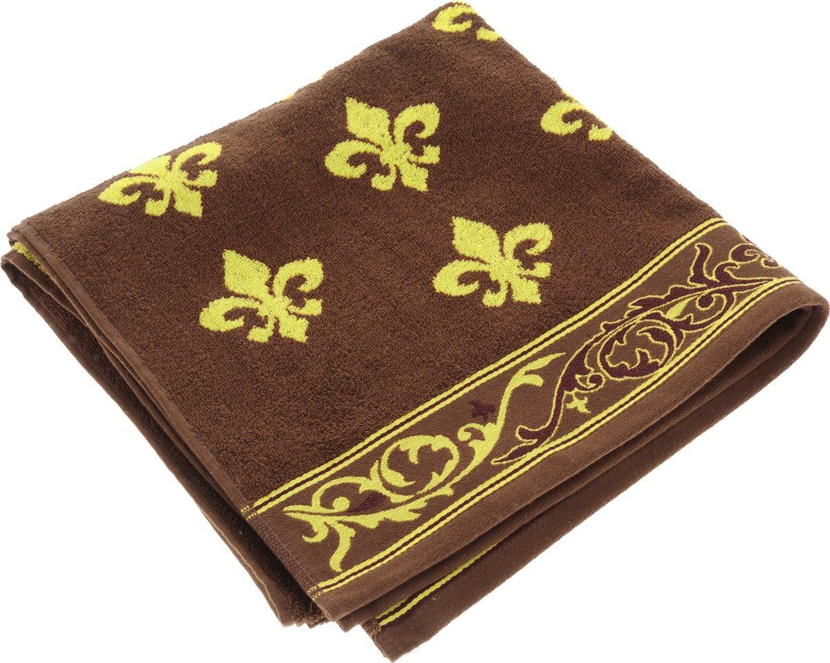Полотенца Soavita Полотенце Lakeshia Цвет: Коричневый (65х130 см) полотенца soavita полотенце селсо цвет розовый 50х90 см