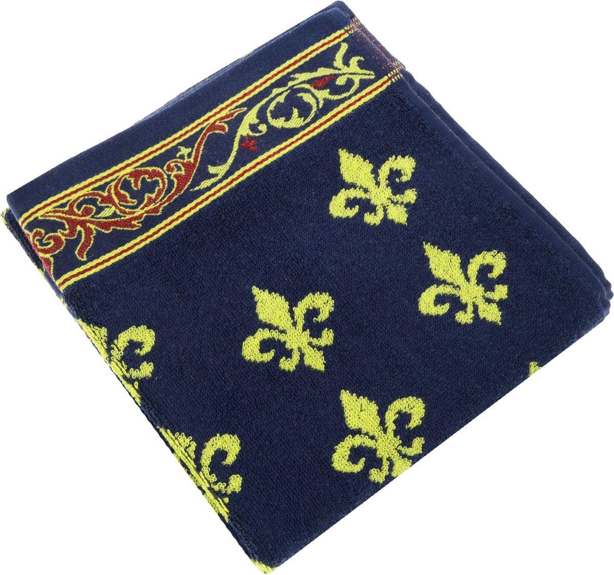Полотенца Soavita Полотенце Lakeshia Цвет: Синий (65х130 см) полотенца soavita полотенце nancy цвет белый 50х90 см