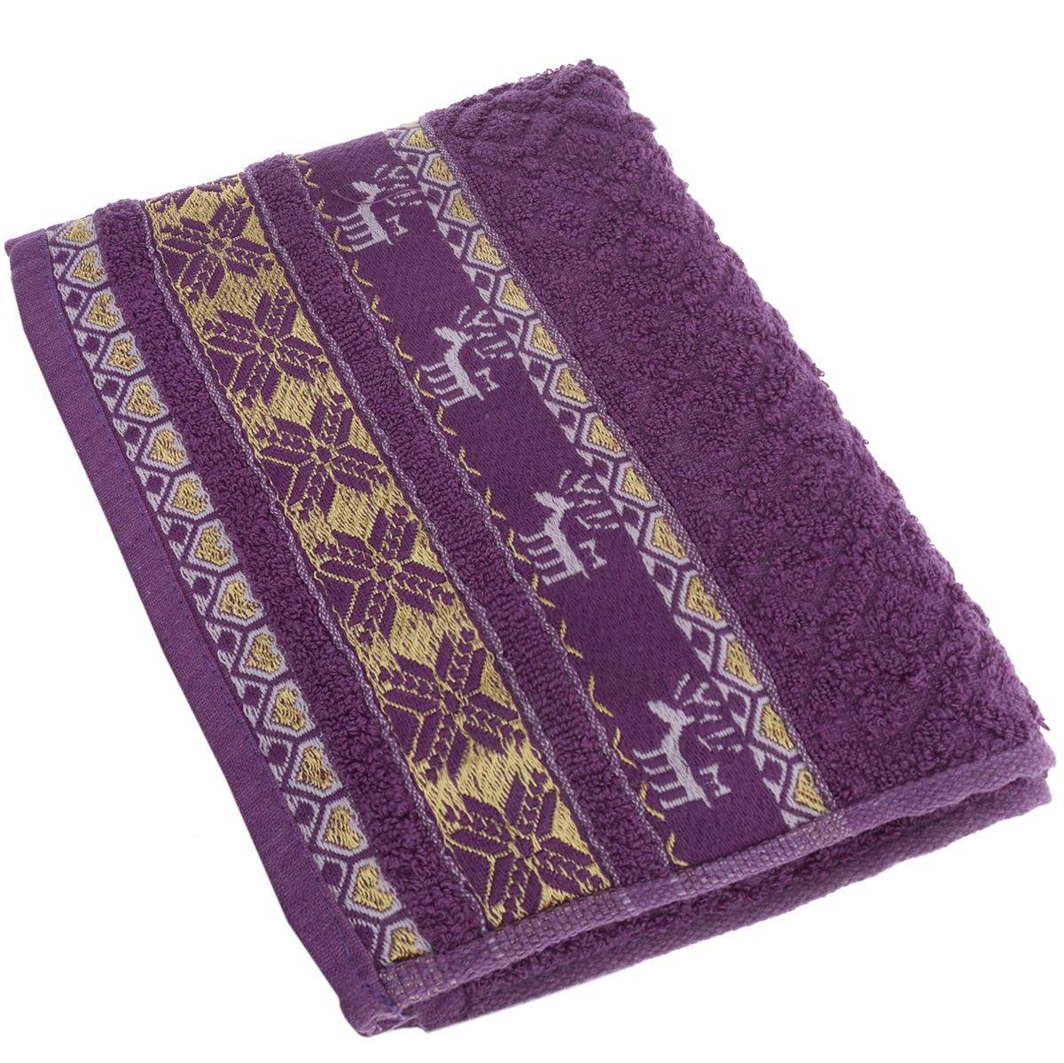 Полотенца Soavita Полотенце Marco Цвет: Лиловый (50х90 см) полотенца soavita полотенце селсо цвет розовый 50х90 см