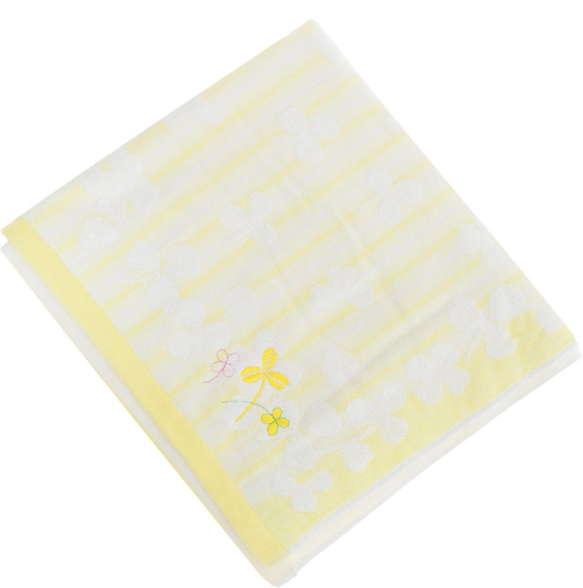 где купить Полотенца Soavita Полотенце Desy Цвет: Желтый (48х90 см) по лучшей цене