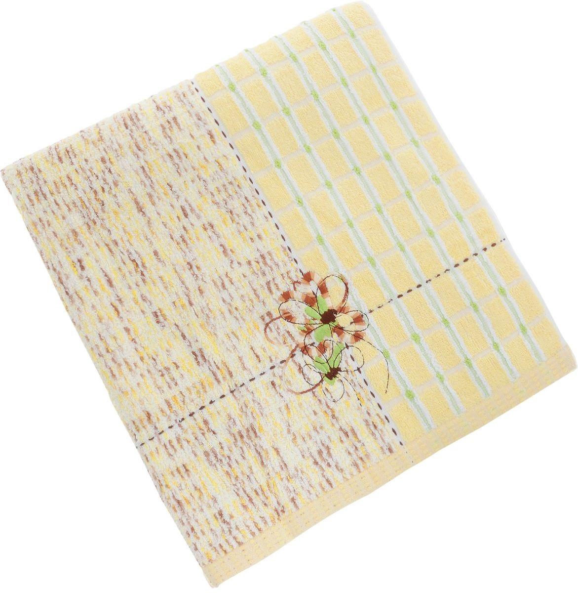Полотенца Soavita Полотенце Sandra Цвет: Желтый (70х140 см) полотенца soavita полотенце sandra цвет оранжевый 50х90 см