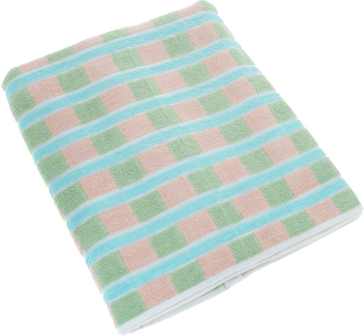все цены на Полотенца Soavita Полотенце Linda Цвет: Зеленый (70х140 см) в интернете