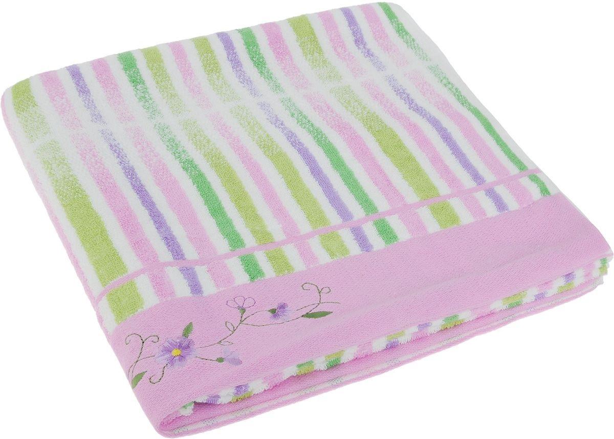 где купить Полотенца Soavita Полотенце Lily Цвет: Розовый (70х140 см) по лучшей цене