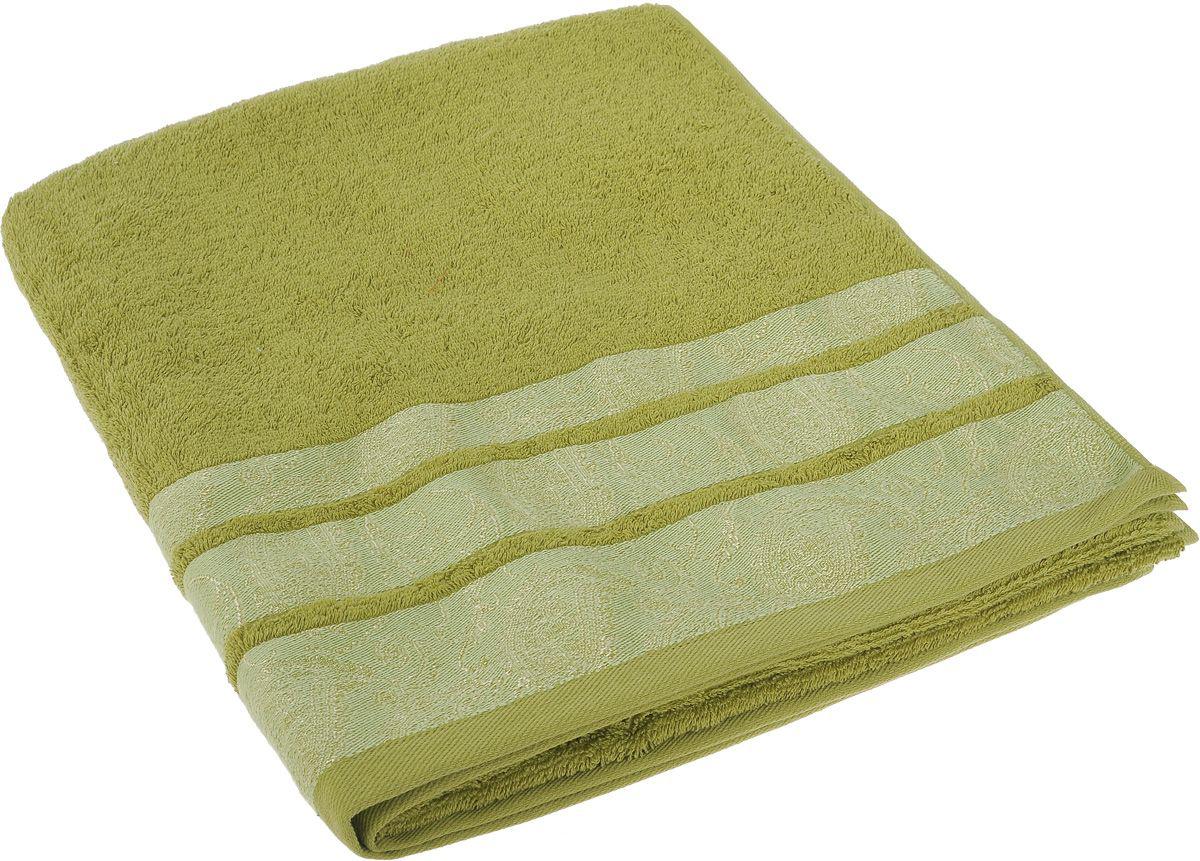 где купить Полотенца Soavita Полотенце Almond Цвет: Зеленый (70х140 см) по лучшей цене