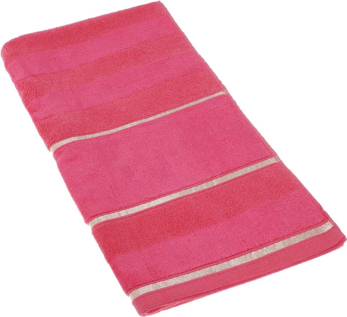 Полотенца Soavita Полотенце Louise Цвет: Фуксия (50х90 см) полотенца soavita полотенце nancy цвет белый 50х90 см