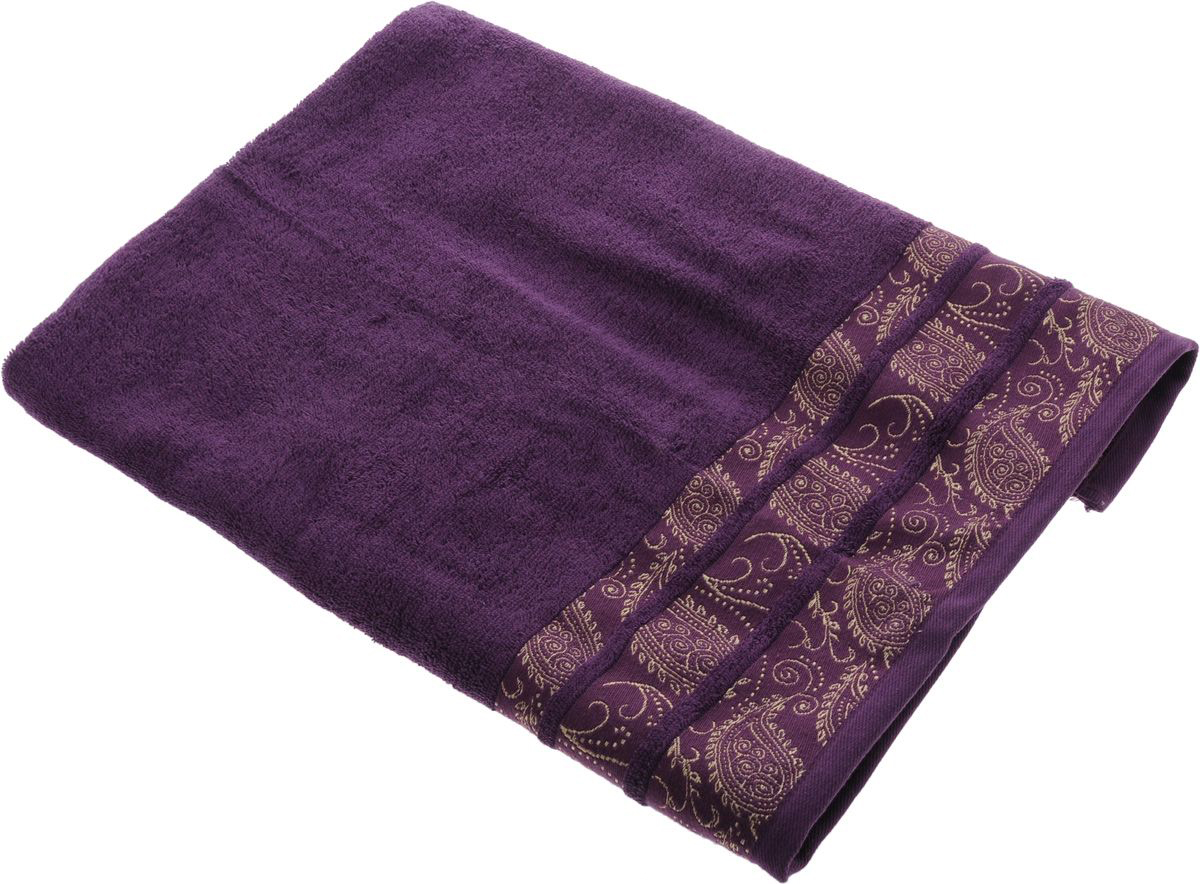 Полотенца Soavita Полотенце Almond Цвет: Лиловый (70х140 см) полотенце кухонное soavita цвет коралловый диаметр 65 см 48800