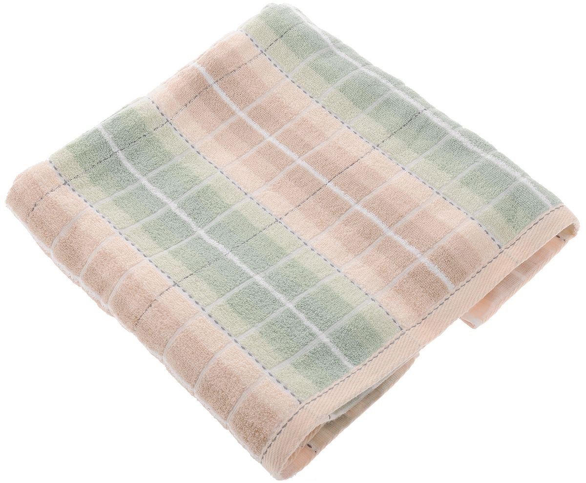 Полотенца Soavita Полотенце Aldo Цвет: Светло-Терракотовый, Светло-Зеленый (70х140 см) балетки aldo цвет зеленый