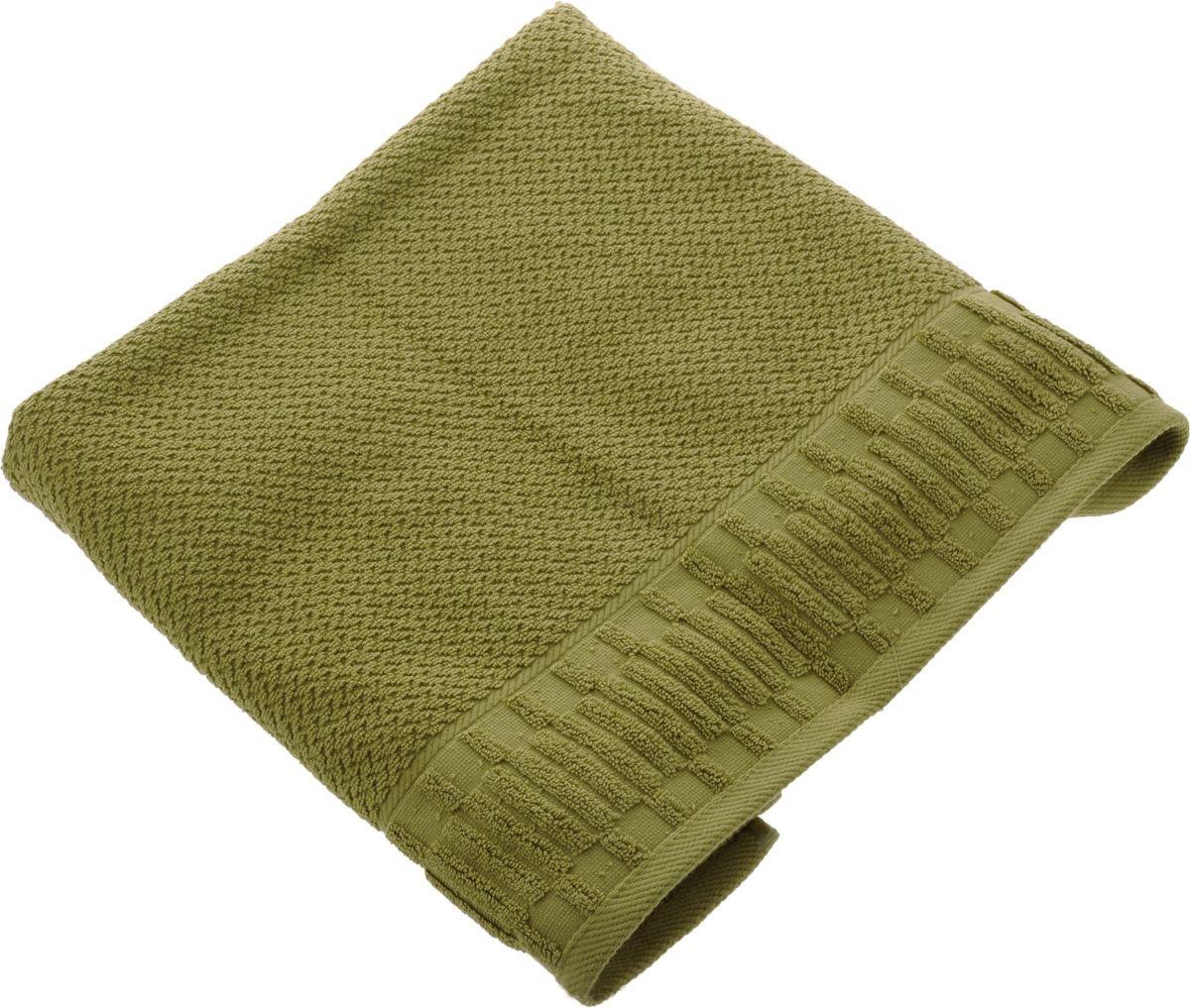 Полотенца Soavita Полотенце Mineola Цвет: Зеленый (50х90 см) полотенце кухонное soavita цвет коралловый диаметр 65 см 48800