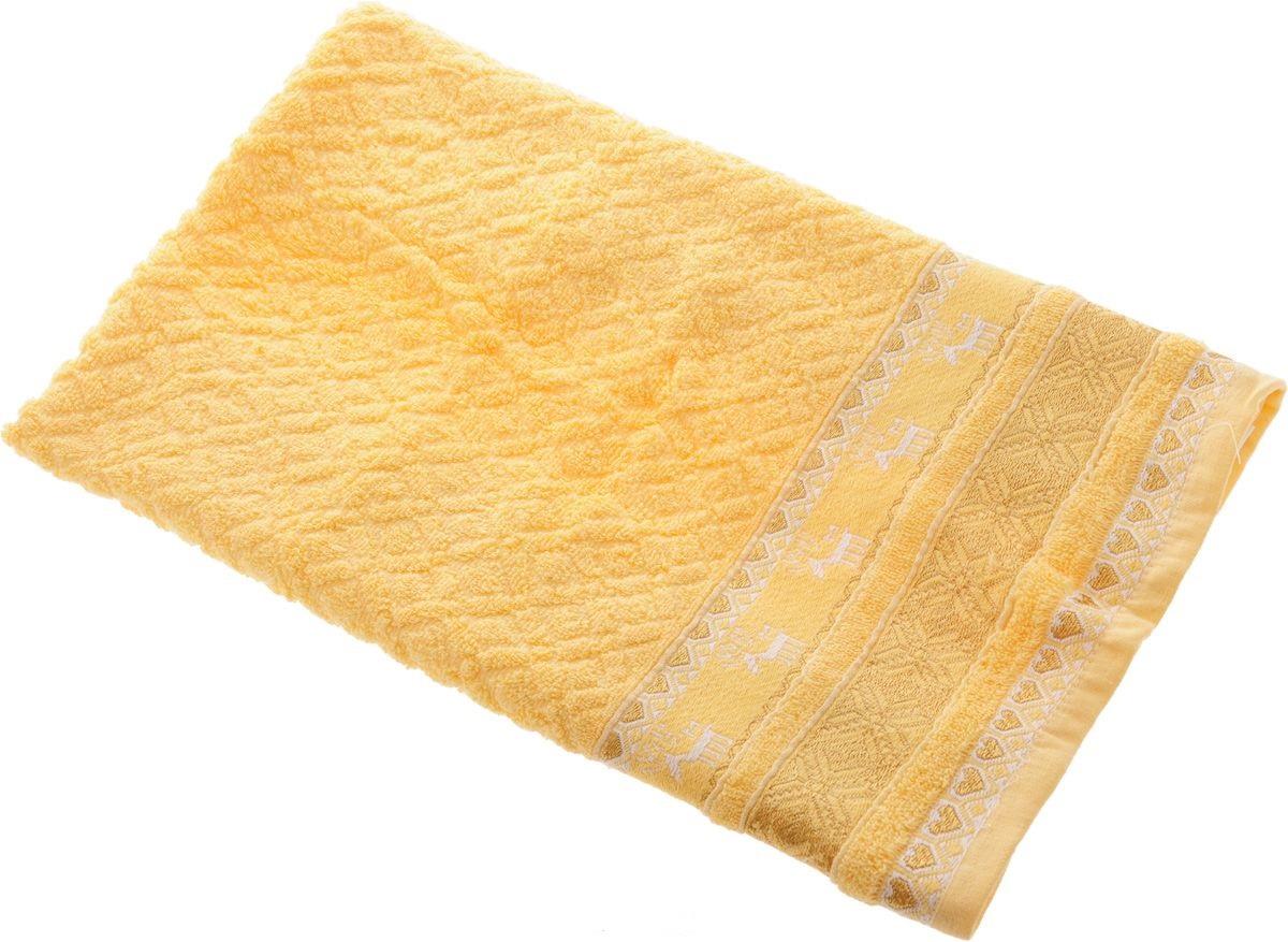 Полотенца Soavita Полотенце Marco Цвет: Желтый (50х90 см) полотенца soavita полотенце селсо цвет розовый 50х90 см