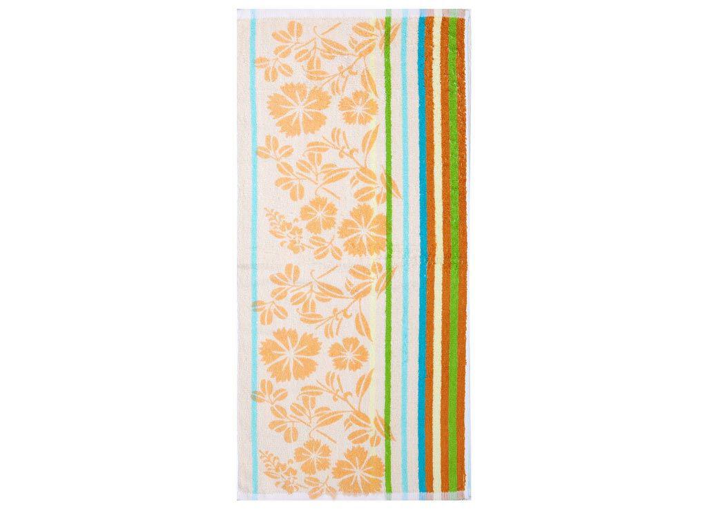 Полотенца Soavita Полотенце Василек Цвет: Оранжевый (60х120 см) полотенце кухонное soavita цвет светло зеленый 40 х 60 см 48803