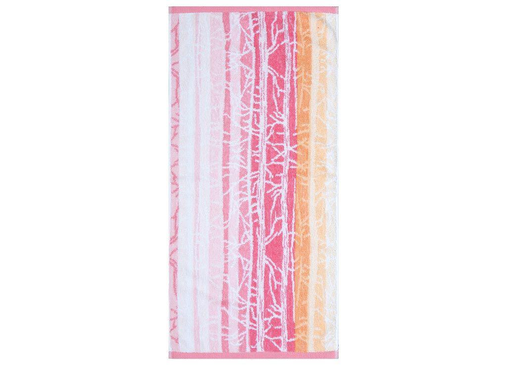 Полотенца Soavita Полотенце Интер Цвет: Розовый-Оранжевый (45х90 см) полотенца soavita полотенце селсо цвет розовый 50х90 см