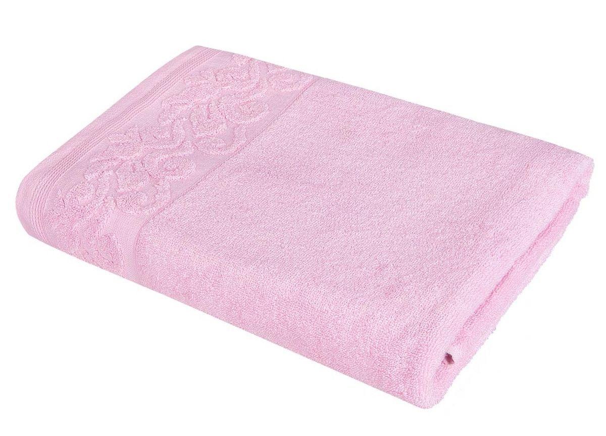 где купить Полотенца Soavita Полотенце Белла Цвет: Розовый (48х90 см) по лучшей цене