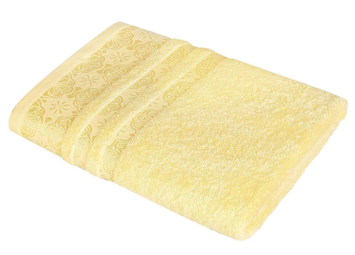 где купить Полотенца Soavita Полотенце Орнамент Цвет: Желтый (48х90 см) по лучшей цене