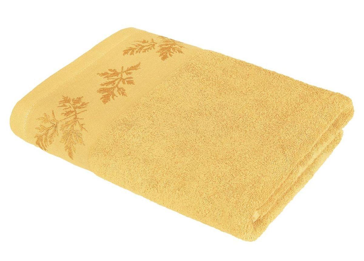 где купить Полотенца Soavita Полотенце Катрин Цвет: Желтый (48х90 см) по лучшей цене