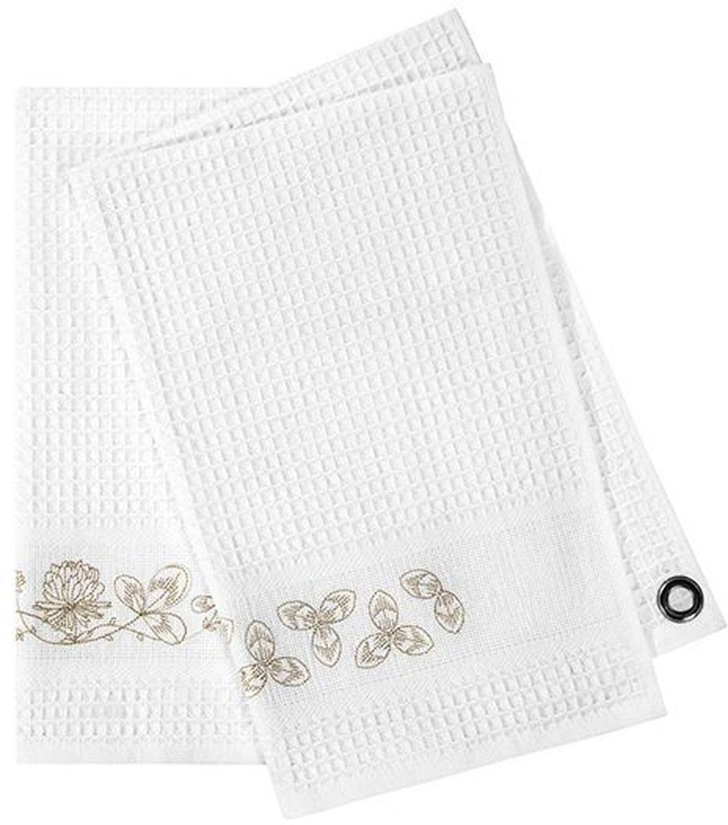 где купить {} Togas Кухонное полотенце Идиллия Цвет: Белый (45х70 см - 2 шт) по лучшей цене