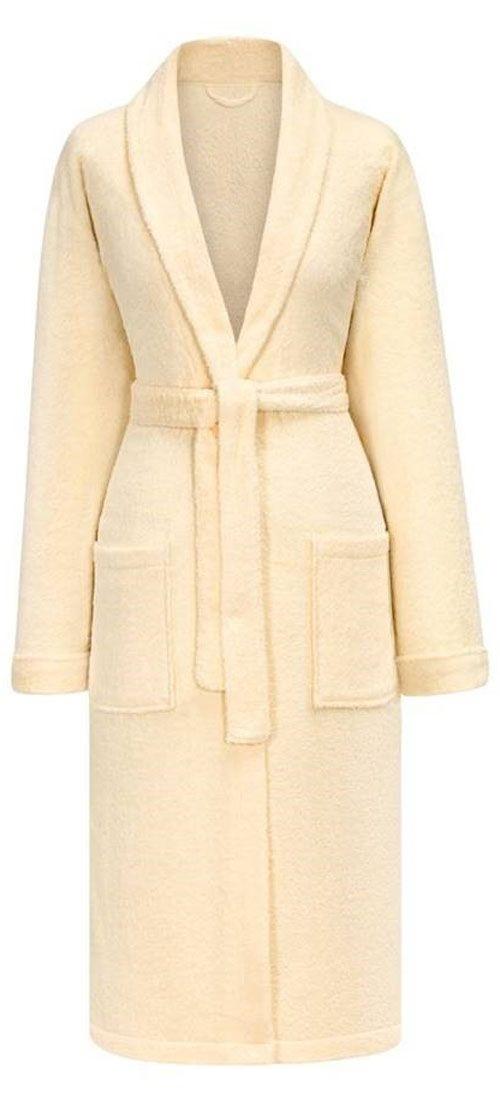 Сауны, бани и оборудование ESTIA Халат Мария Цвет: Экру (L) купить шелковый халат мужской спб
