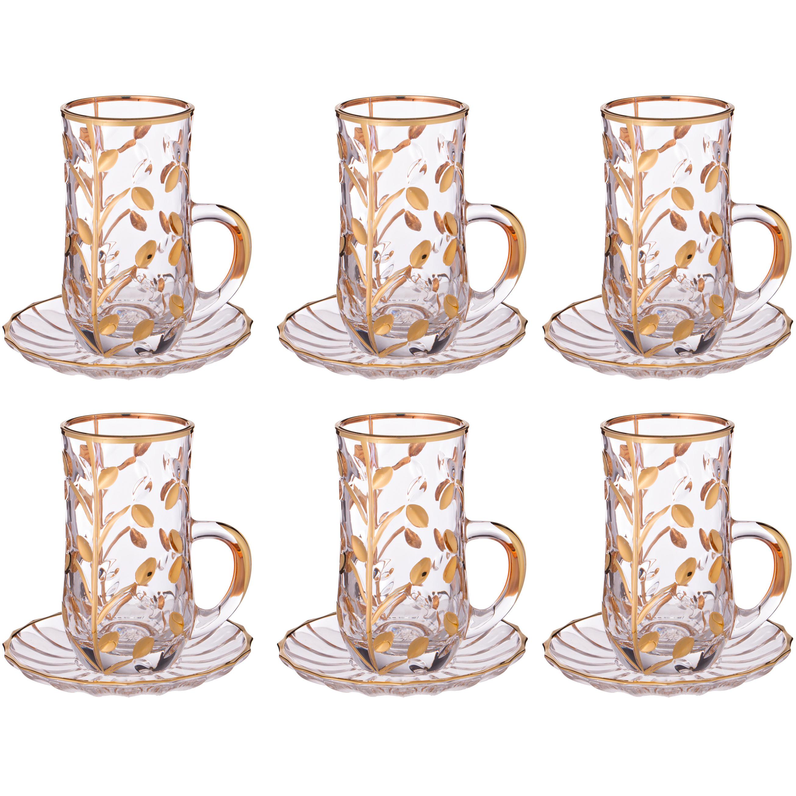 {} Same Набор чашек Лаурус (125 мл - 6 шт) same набор стаканов для виски лаурус 300 мл 6 шт