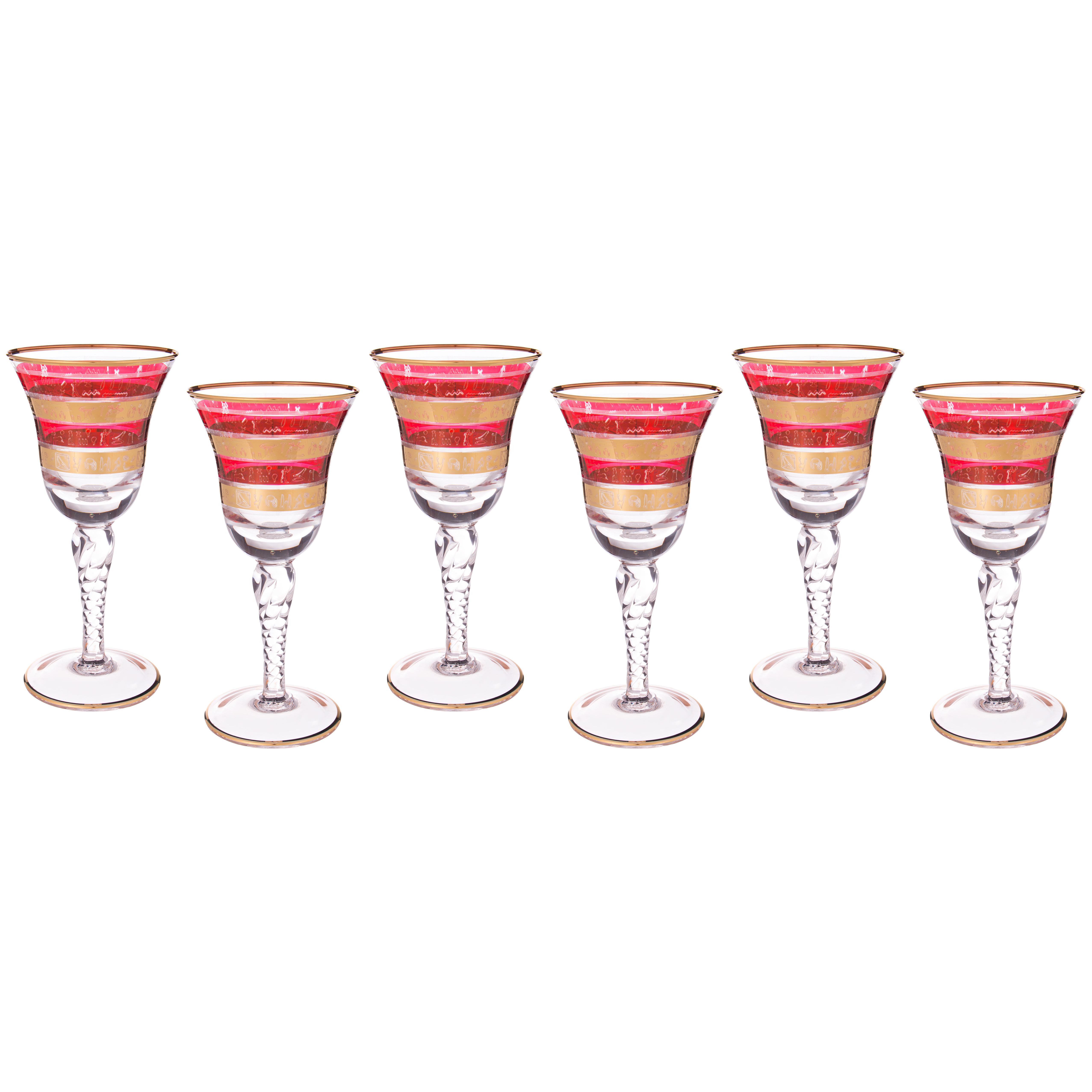 {} Same Набор бокалов для вина Vonnie (250 мл - 6 шт) sistema набор бокалов для бренди brandy 840 мл 2 шт