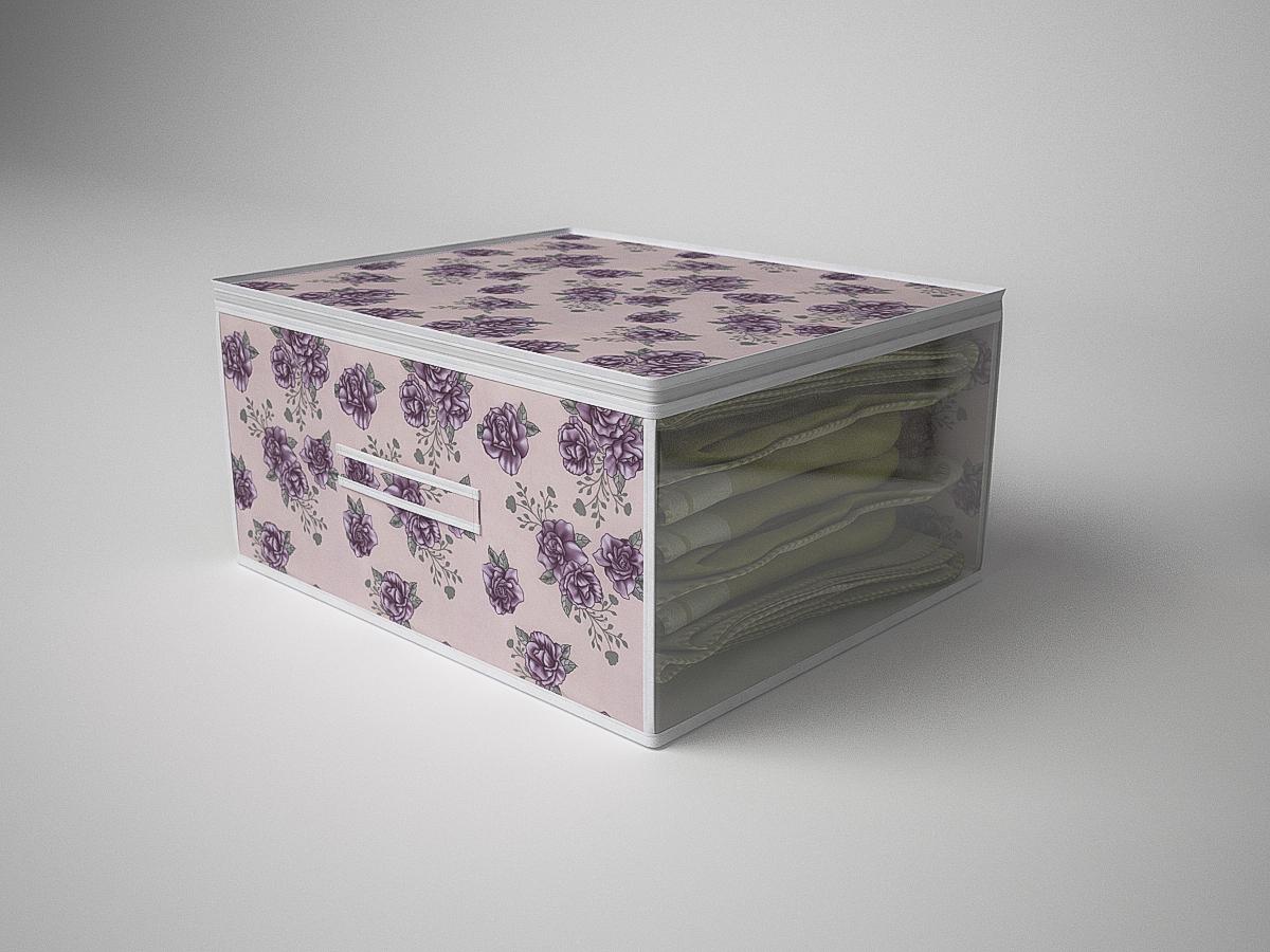 {} CoFreT Кофр для хранения Шебби Нью (30х50х60 см) кофр стеллажный для хранения вещей valiant vintage 2 секции 50 x 30 x 20 см