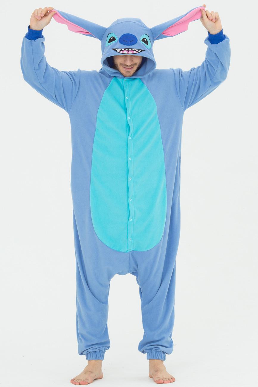 Пижамы Футужама Пижама-кигуруми Стич (M)