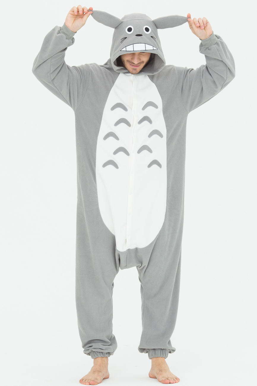 Пижамы Футужама Пижама-кигуруми Тоторо (xS) пижамы футужама пижама кигуруми тигр xs