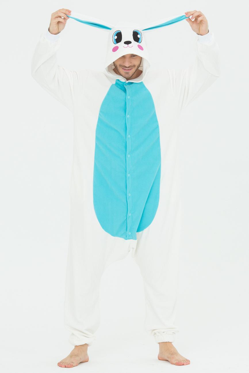 Пижамы Футужама Пижама-кигуруми Заяц Голубой (xL)
