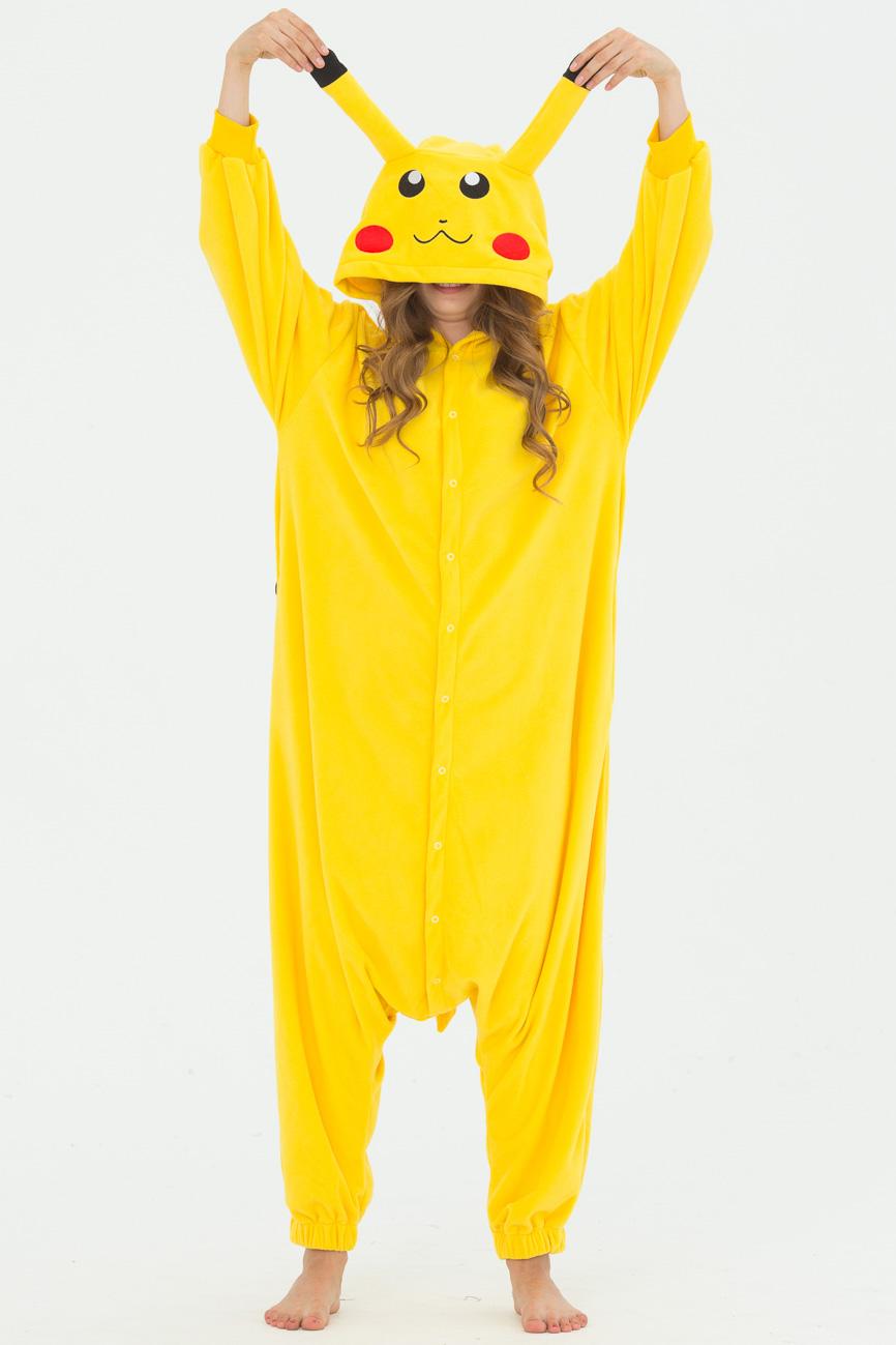 Пижамы Футужама Пижама-кигуруми Покемон Пикачу (S)