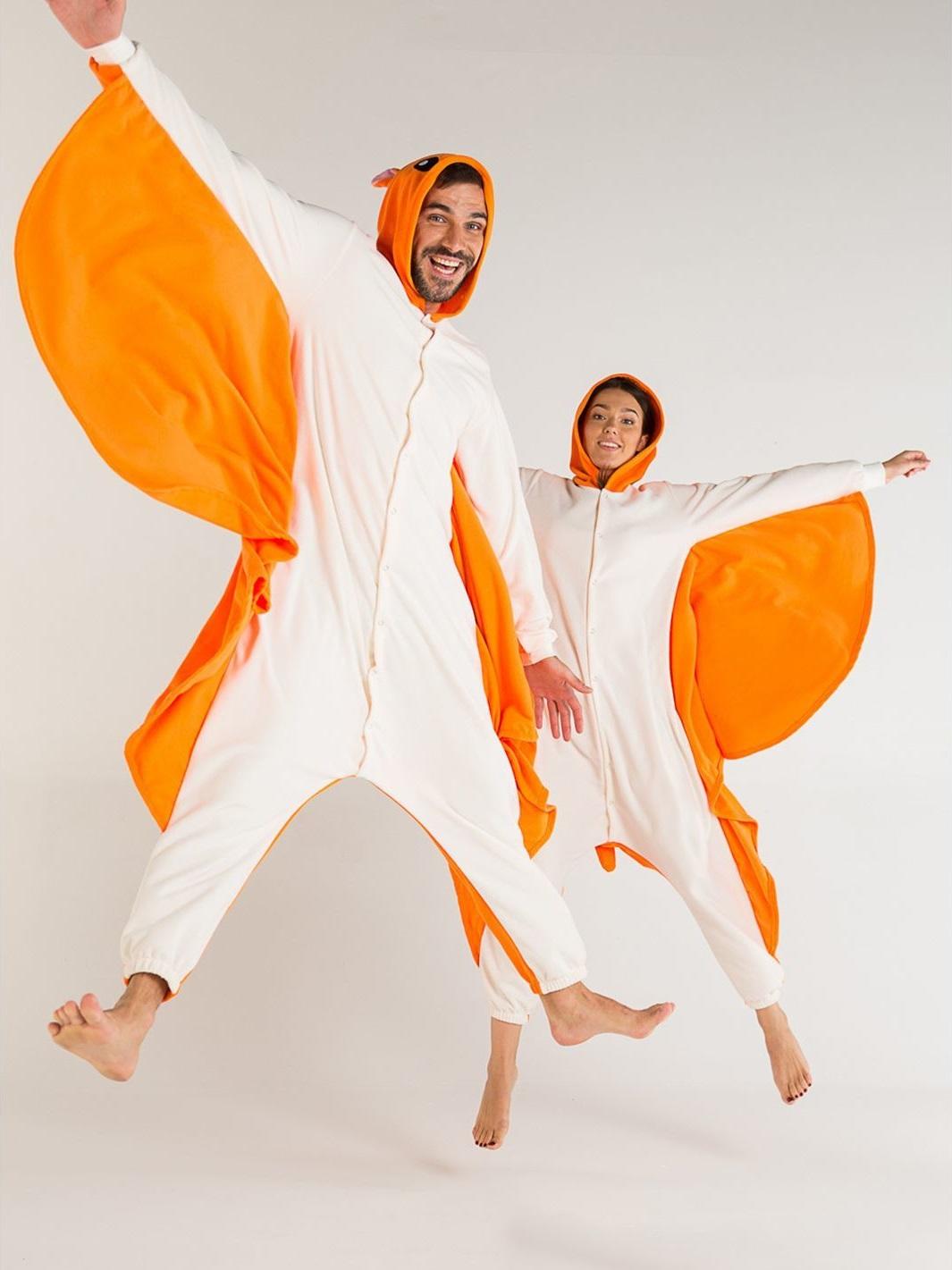 Пижамы Футужама Пижама-кигуруми Белка-Летяга (xL) пижамы la pastel пижама кофта с запахом длинный рукав штаны длинные белый голубой размер xl