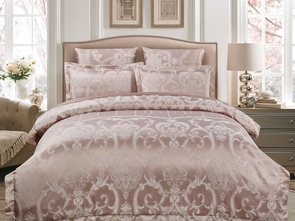 Постельное белье Asabella Постельное белье Mangolia  (семейное) постельное белье asabella постельное белье 1 5 спальное тенсел сатин