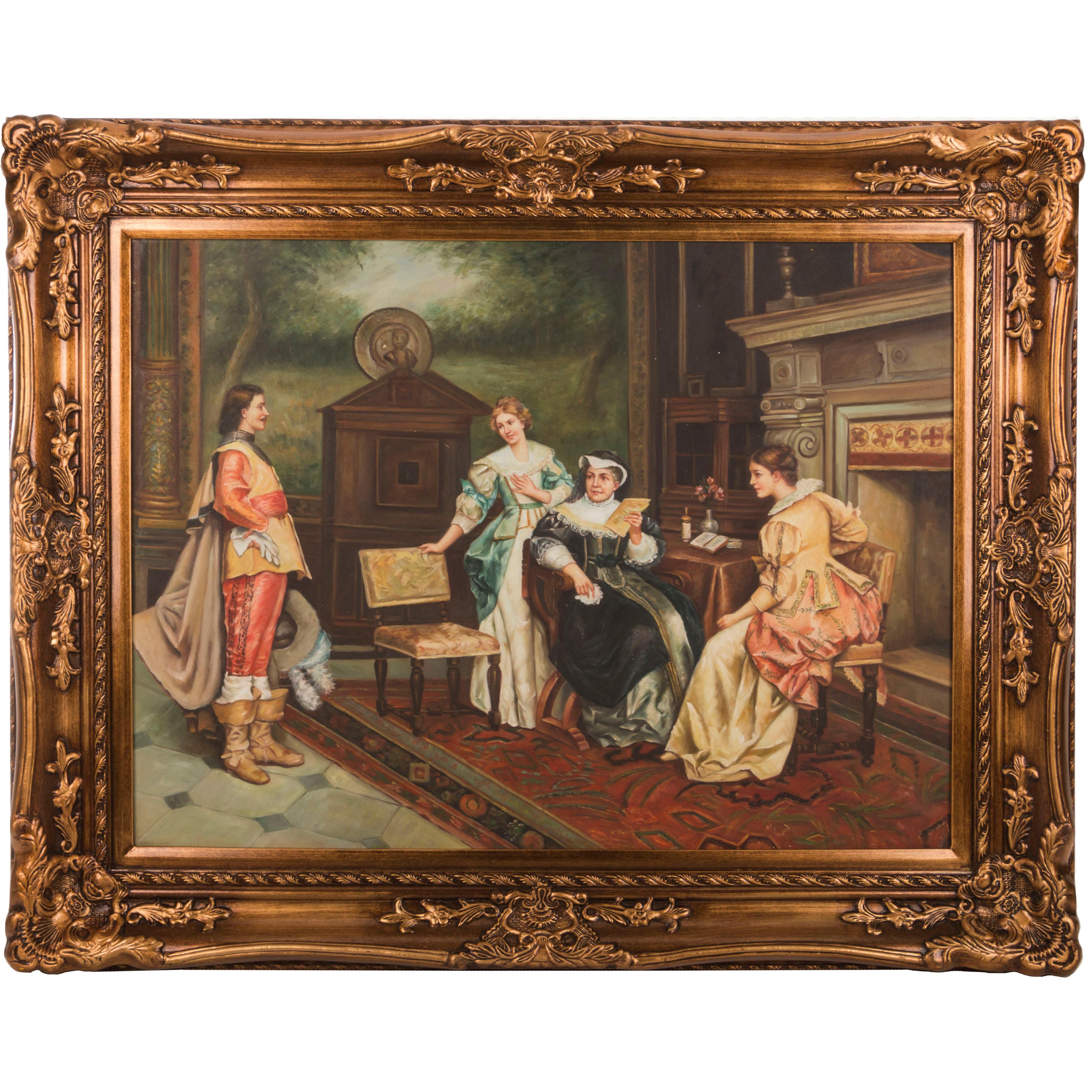 {} Frame Factory Картина Judi (101х128 см) frame