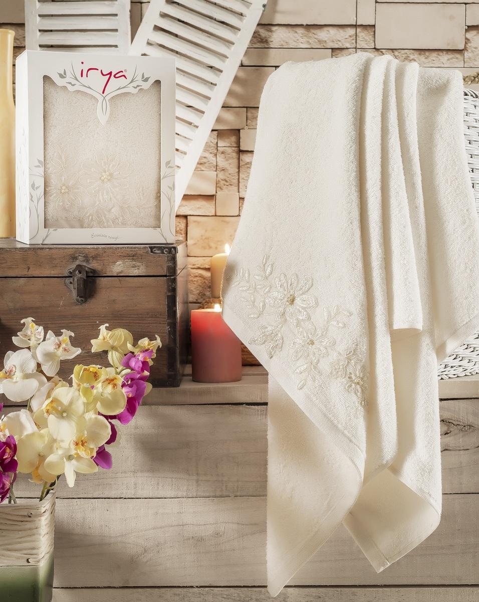 Полотенца IRYA Полотенце Great Цвет: Молочный (85х150 см)