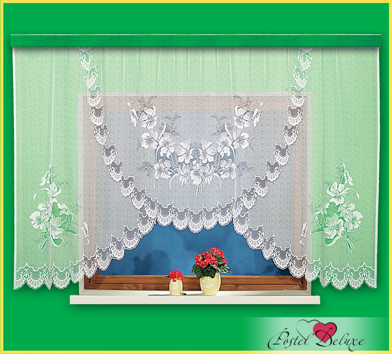 Шторы Haft Классические шторы Tulips Цвет: Белый шторы tac классические шторы winx цвет персиковый 200x265 см