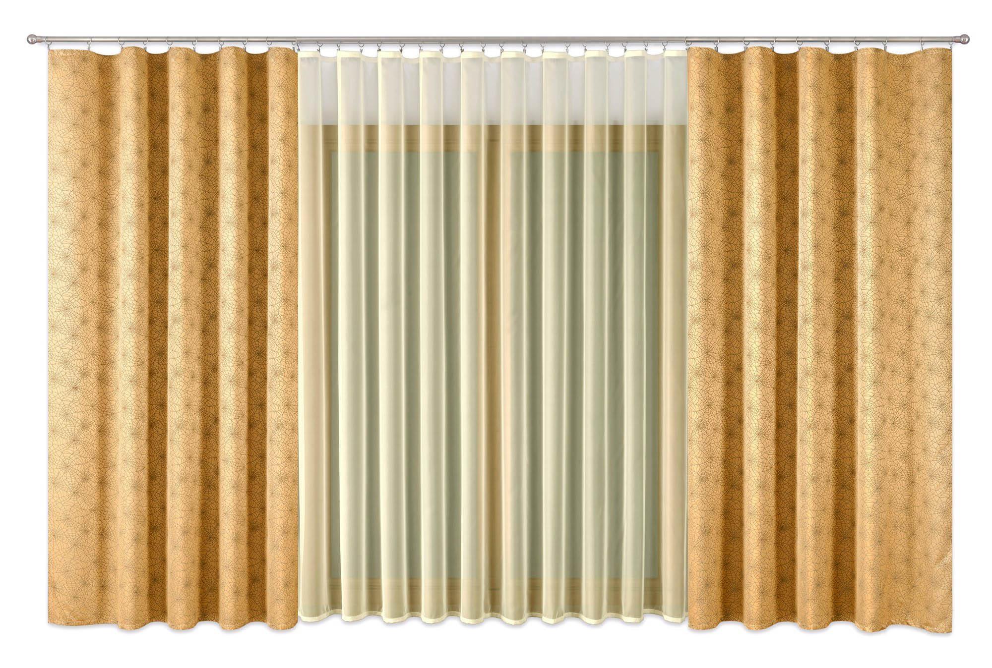 Шторы Primavera Классические шторы Debbie Цвет: Золотой шторы primavera классические шторы maev цвет персиковый