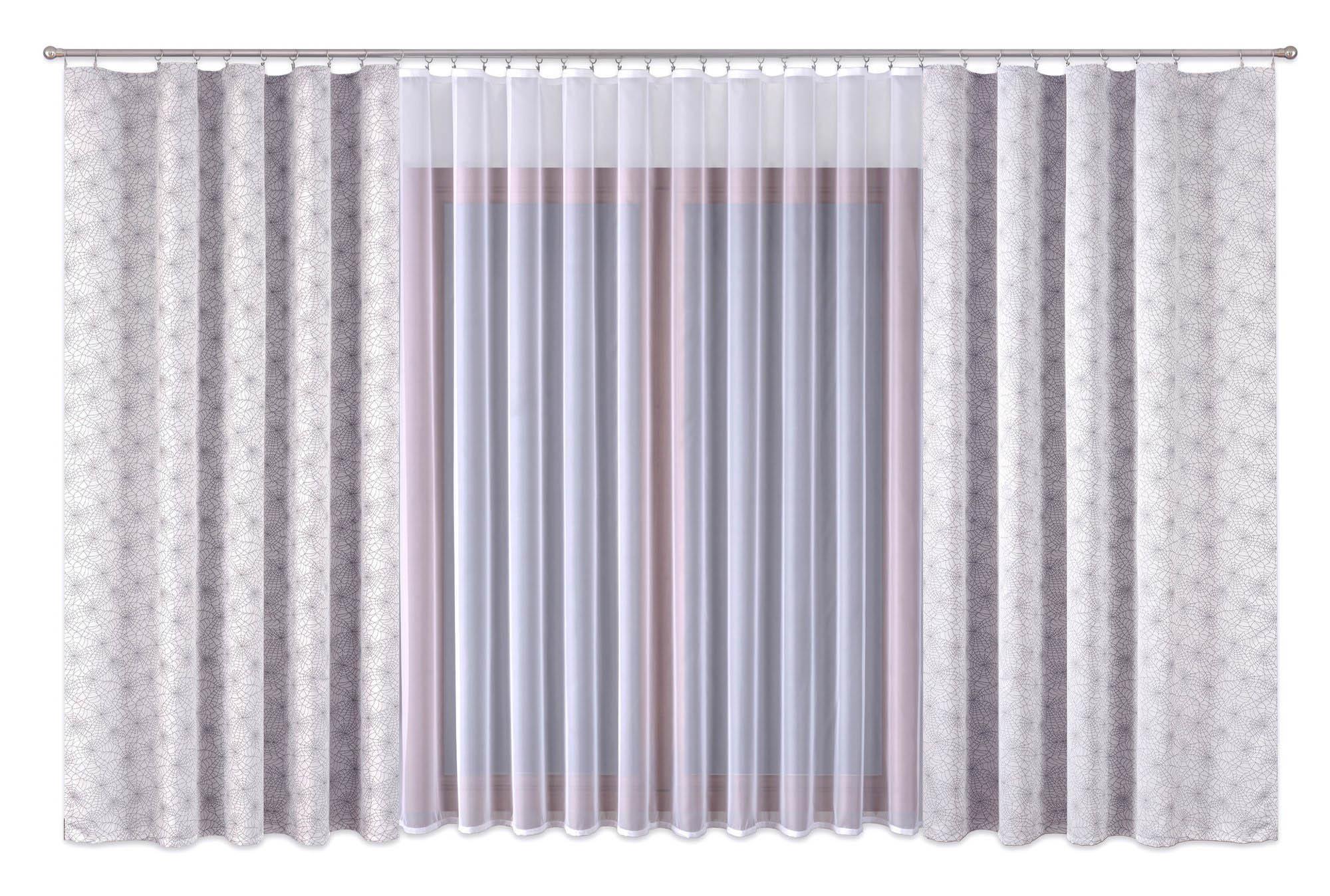 Шторы Primavera Классические шторы Debbie Цвет: Серый шторы tac классические шторы winx цвет персиковый 200x265 см