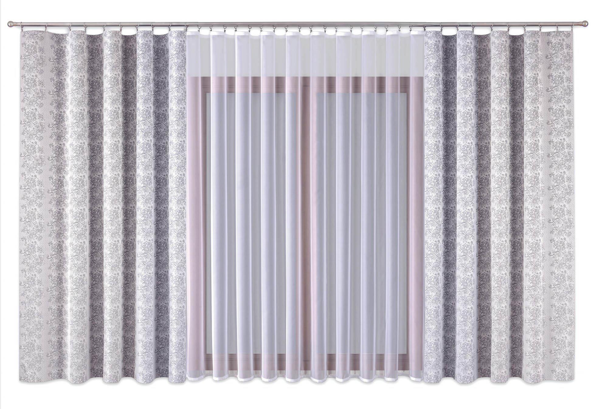Шторы Primavera Классические шторы Natalie Цвет: Серый шторы primavera классические шторы maev цвет персиковый
