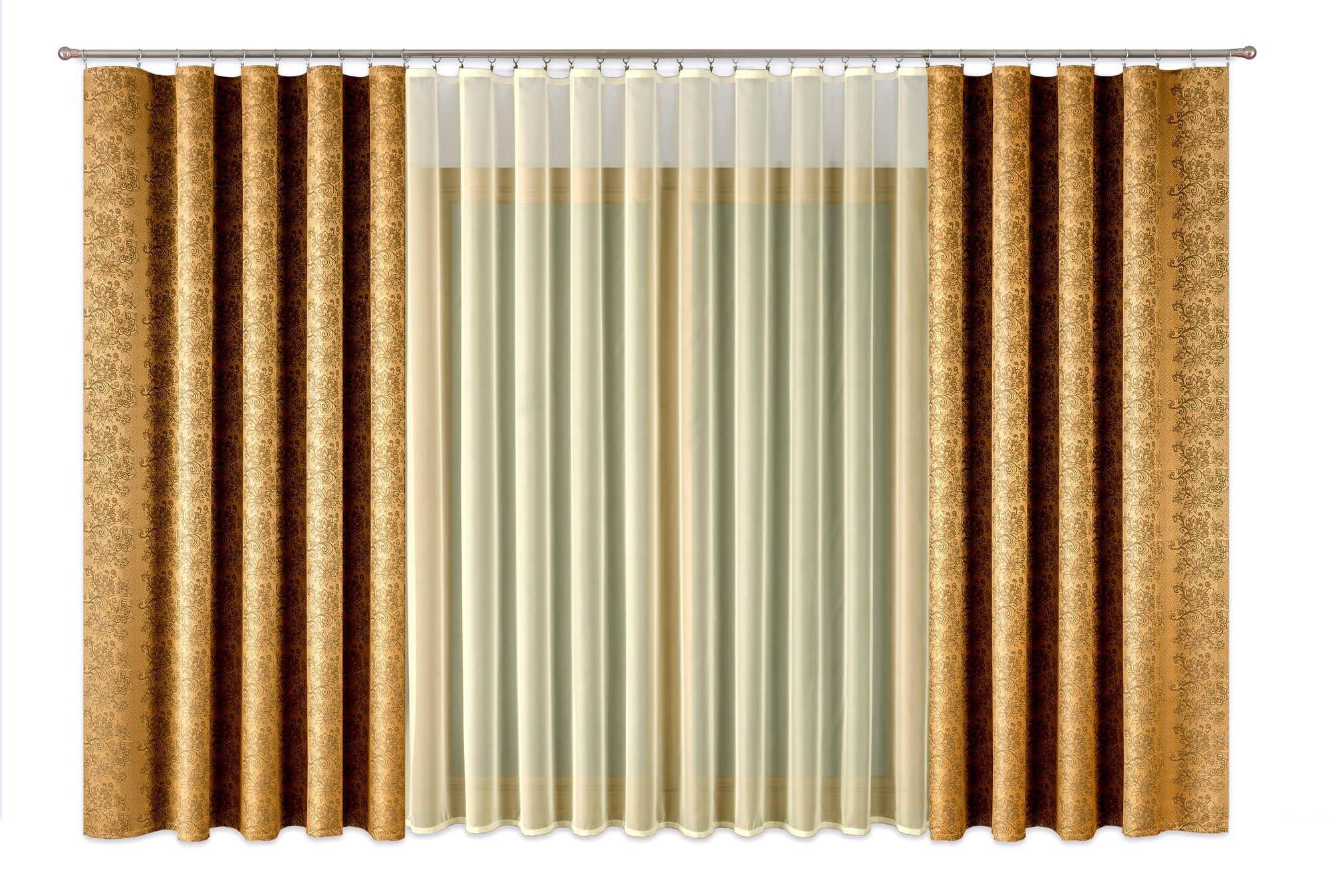 Шторы Primavera Классические шторы Natalie Цвет: Золотой шторы primavera классические шторы maev цвет персиковый